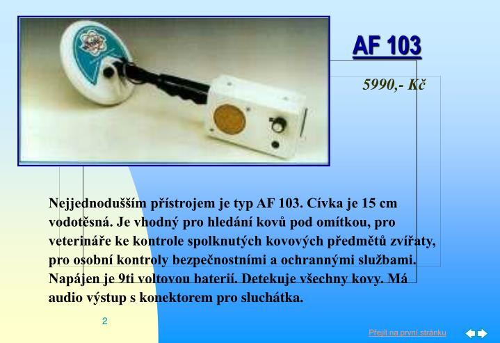 AF 103