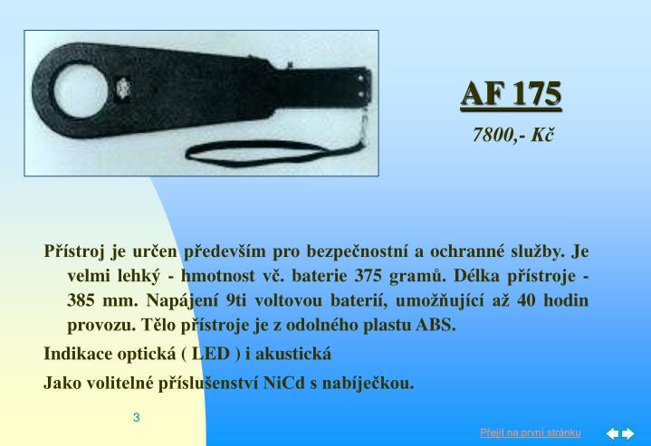 AF 175