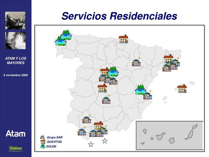 Servicios Residenciales