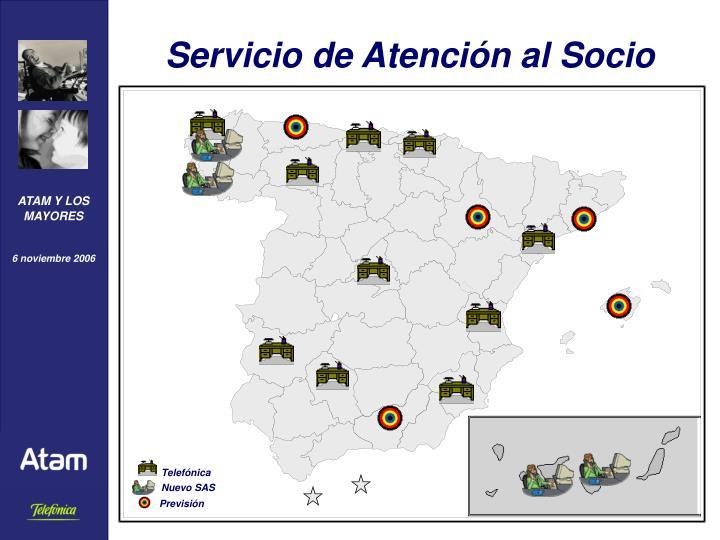 Servicio de Atención al Socio