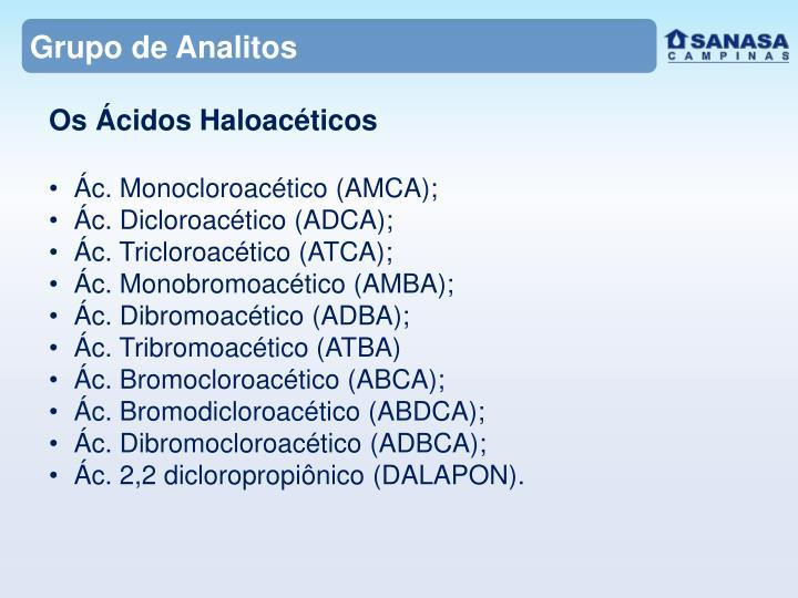 Grupo de Analitos