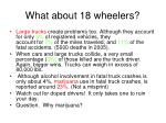 what about 18 wheelers