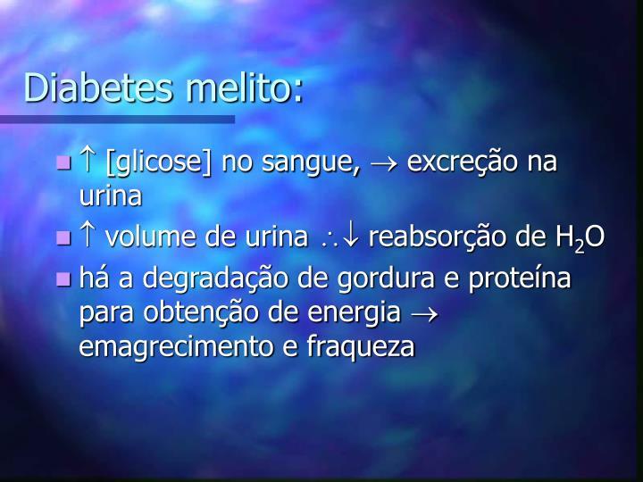 Diabetes melito: