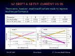 b2 drift sb fit current vs 96