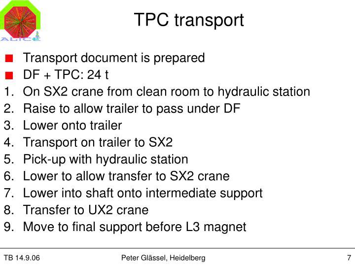 TPC transport