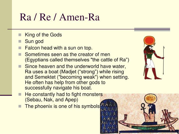 Ra / Re / Amen-Ra