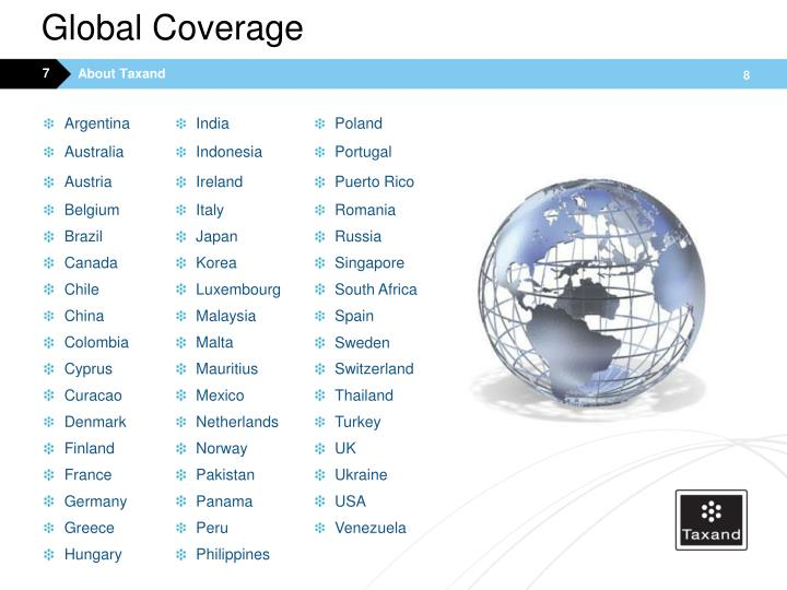 Global Coverage