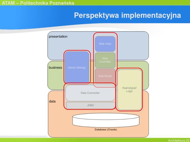 Perspektywa implementacyjna