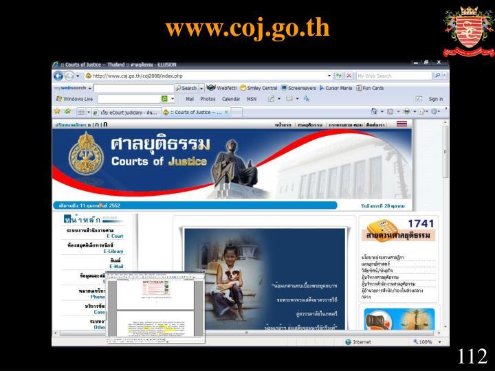 www.coj.go.th
