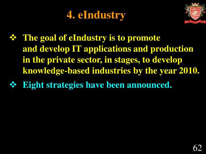 4. eIndustry