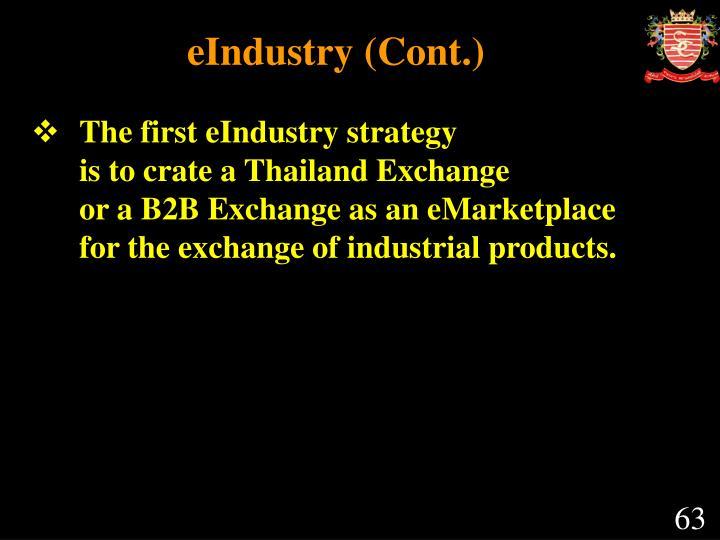 eIndustry