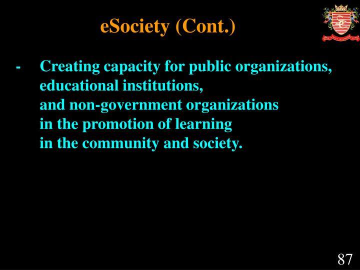 eSociety