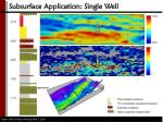 subsurface application single well1