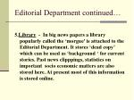 editorial department continued1