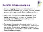 genetic linkage mapping