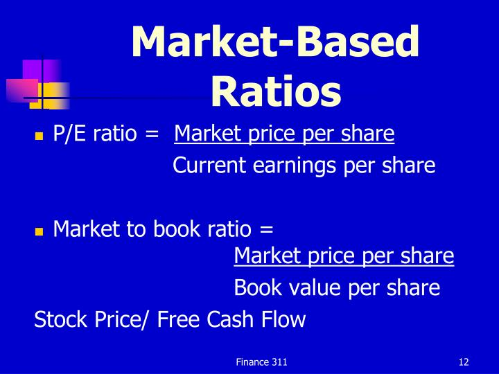 Market-Based Ratios