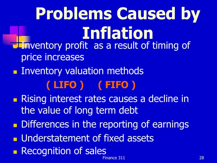 Problems Caused by Inflation
