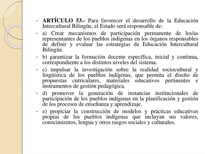 ARTÍCULO 53.-
