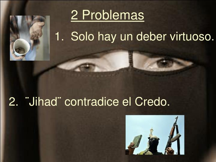 2 Problemas