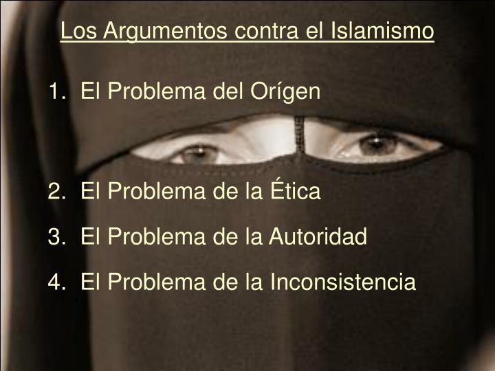 Los Argumentos contra el Islamismo