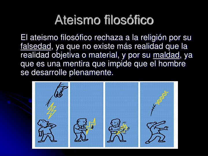Ateismo filosófico
