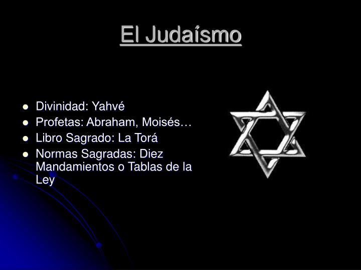 El Judaísmo