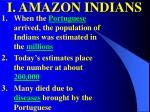 i amazon indians