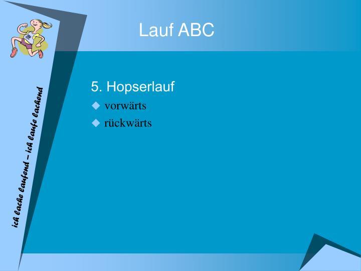 Lauf ABC