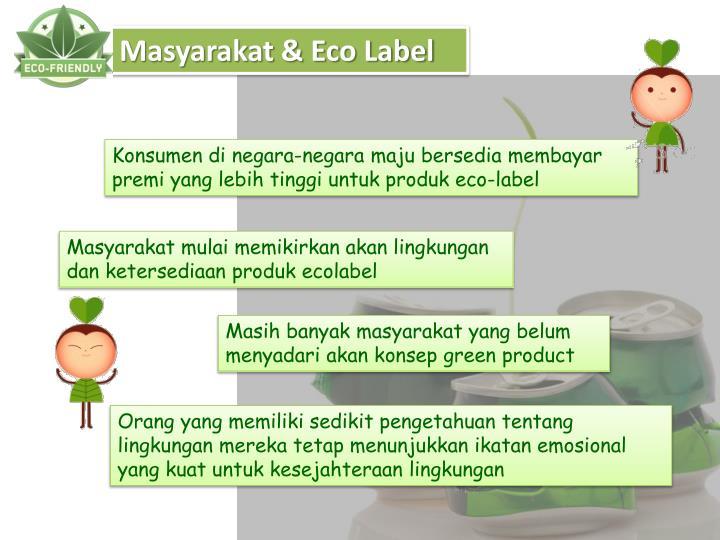 Masyarakat & Eco Label
