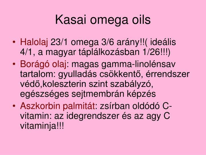 Kasai omega oils