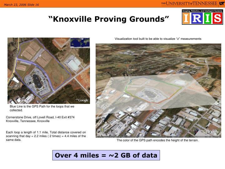 """""""Knoxville Proving Grounds"""""""