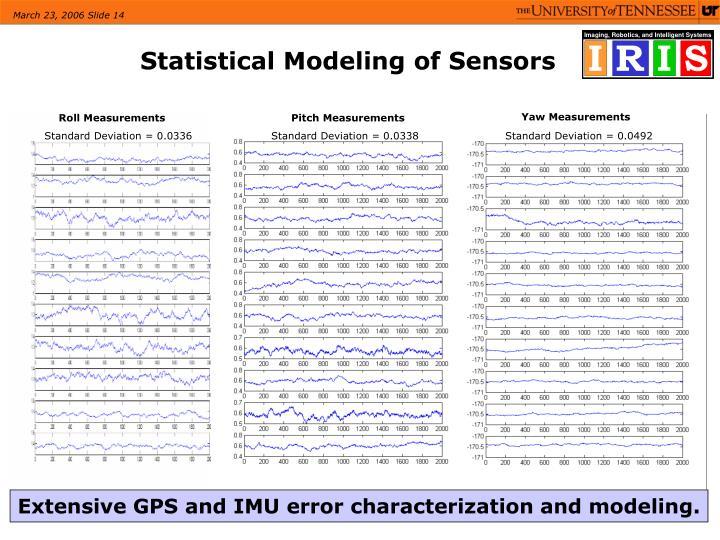 Statistical Modeling of Sensors