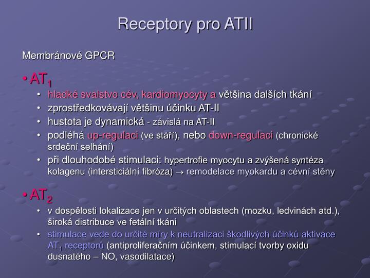Receptory pro ATII