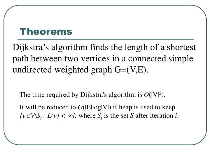 Theorems