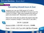 calculating kilowatt hours cost