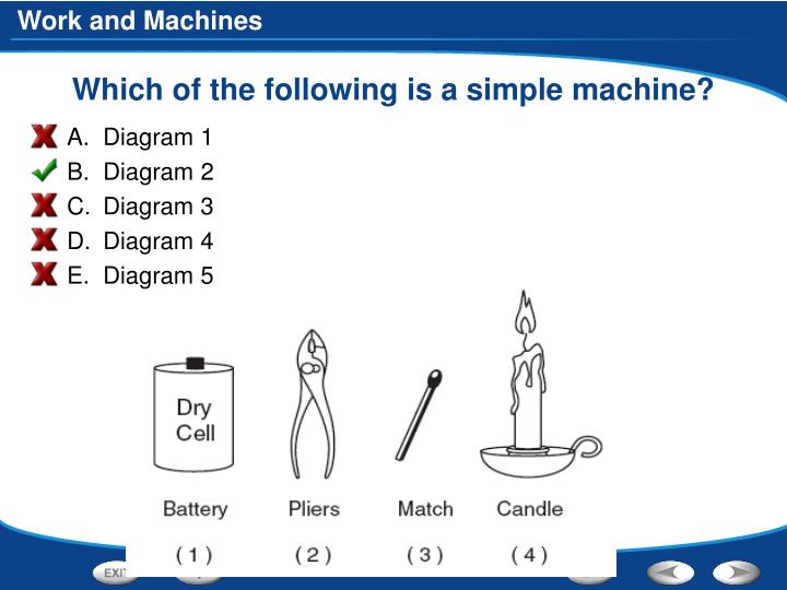 Which of the following is a simple machine?