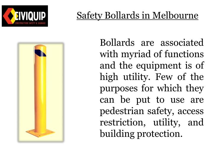 Safety bollards in melbourne