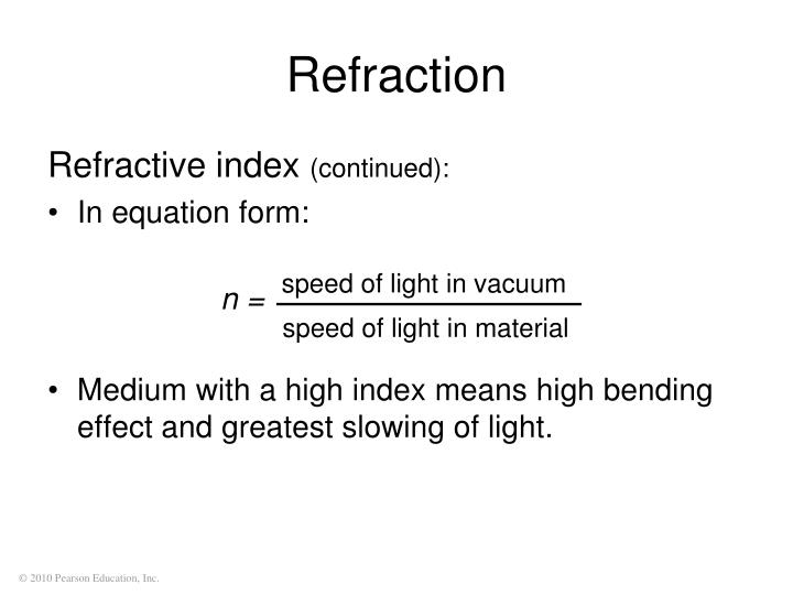 speed of light in vacuum