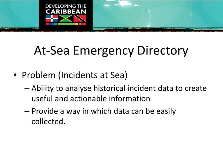 At sea emergency directory1