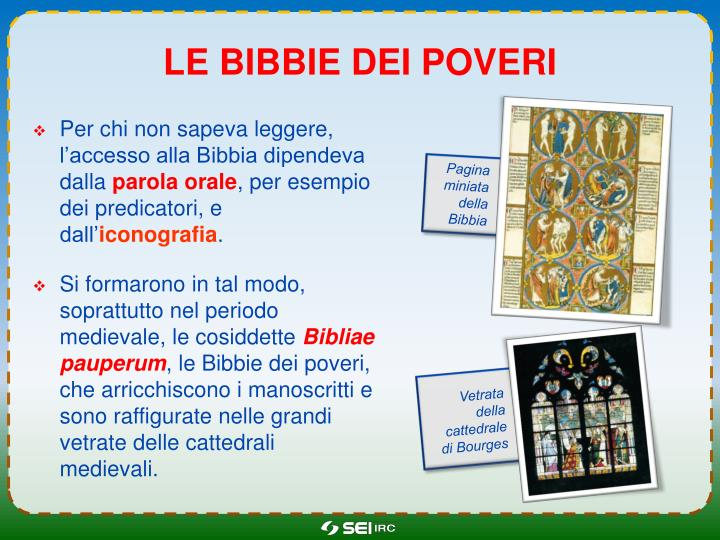 Le bibbie dei poveri
