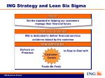ing strategy and lean six sigma1