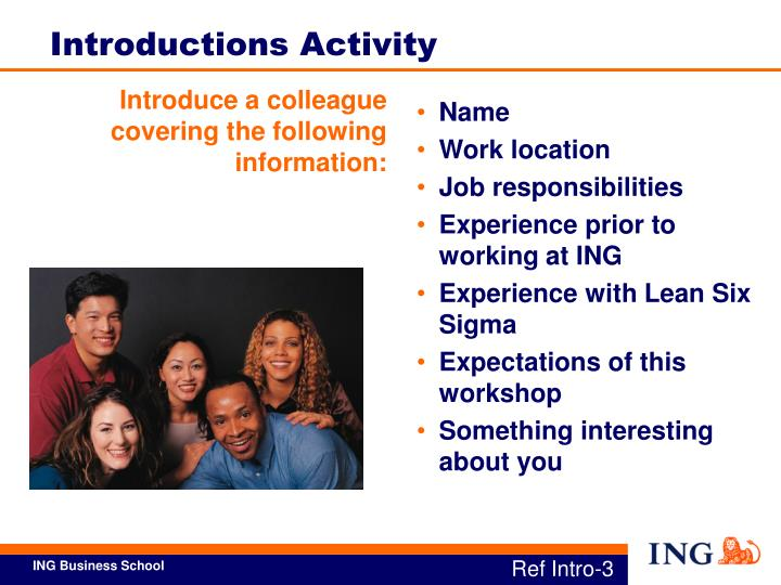 Introduce a colleague covering the following information: