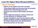 lean six sigma roles responsibilities3
