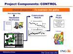 project components control