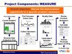 project components measure
