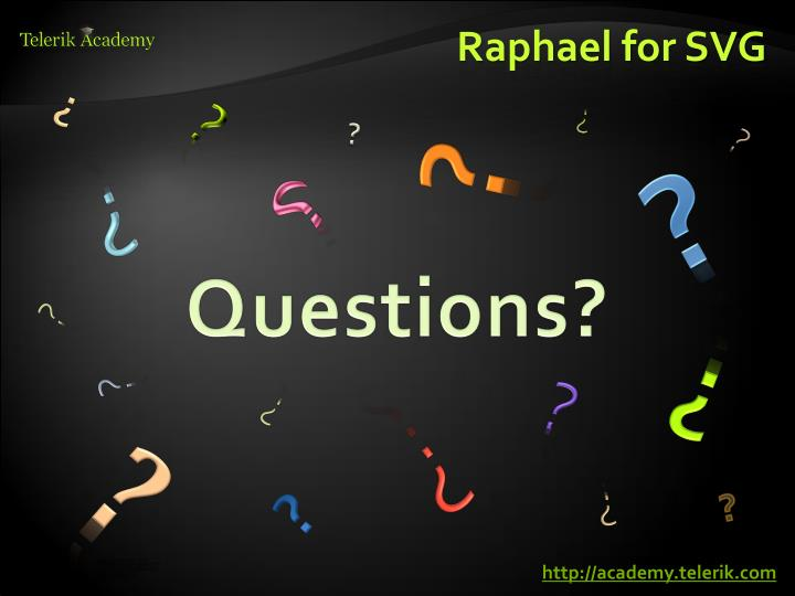 Raphael for SVG