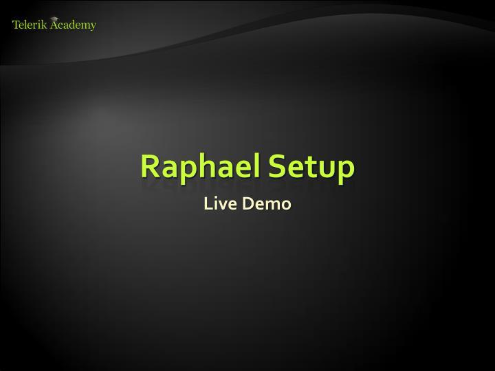 Raphael Setup