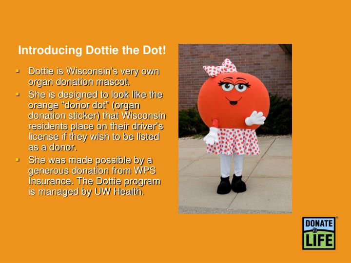 Introducing Dottie the Dot!