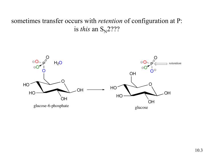 sometimes transfer occurs with