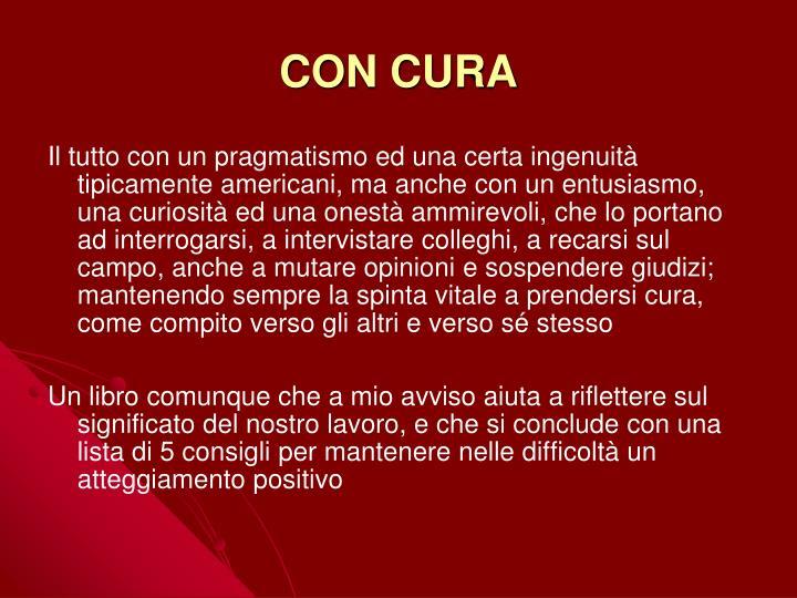 CON CURA
